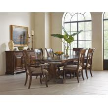 View Product - Carusso Trestle Table - Complete