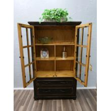 See Details - Stone Brown 2drw Bookcase