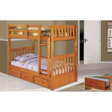 Mission Twin/Twin Bunk Honey