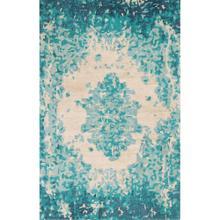 See Details - Best Seller Looking Glass Rug, LAKE, 26X8