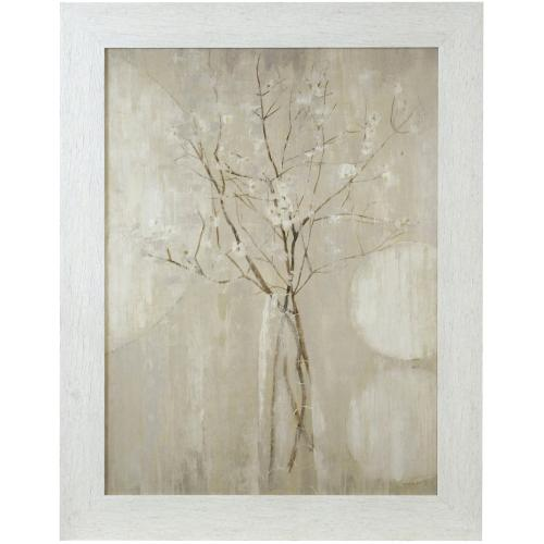 Style Craft - CHAMPAGNE BLOSSOMS  48in X 38in  Made in the USA  Textured Framed Print
