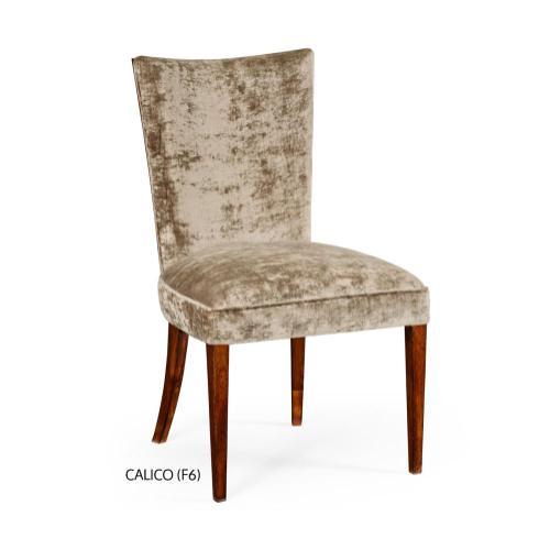 Biedermeier style mahogany dining side chair (Calico)