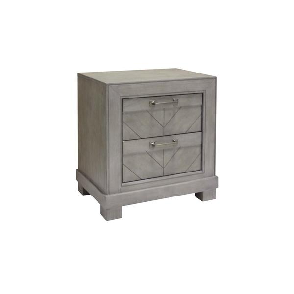 Montana Nightstand, Grey