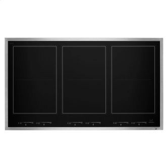 "36"" Lustre Stainless Induction Flex Cooktop"