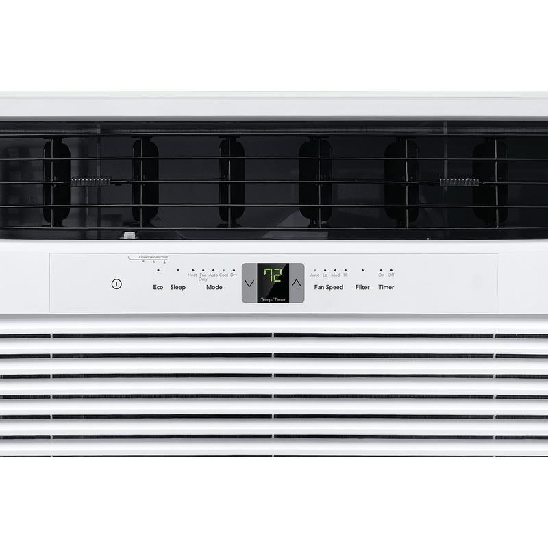 Frigidaire 25,000 BTU Window Air Conditioner with Supplemental Heat and Slide Out Chassis