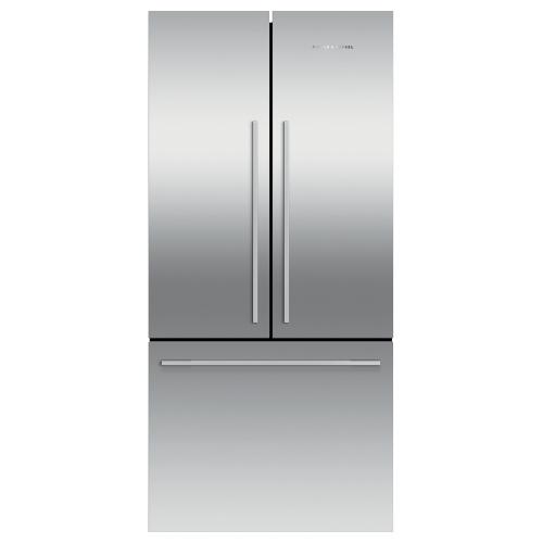 """Gallery - Freestanding French Door Refrigerator Freezer, 32"""", 16.9 cu ft, Ice"""