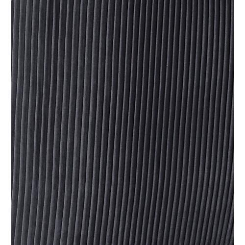 Tov Furniture - Beatrix Pleated Dark Grey Velvet Side Chair