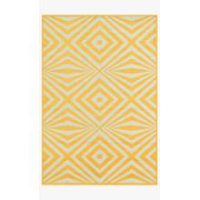 Hcf04 Lemon / Ivory Rug