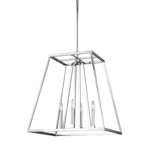 Conant Large Lantern Chrome