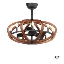 See Details - Bodega Bay 8-Light WiFi-enabled LED Fandelight