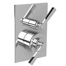 Fleetwood lever pressure balance with lever 3-way diverter trim only, to suit M1-4102 rough