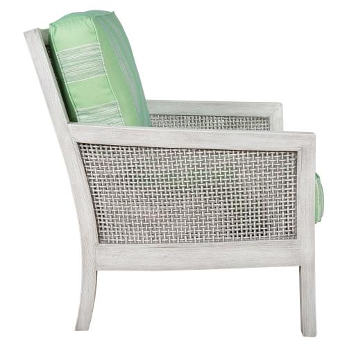 Occassional Chair, Available in Distressed White or Distressed Grey Finish.