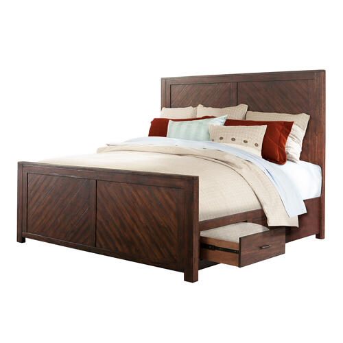 Jax Queen Platform Storage Bed