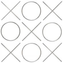 "XOXO Wall Décor - 21.375"" W x .75"" D x 21.375"" H / 20"" W x .75"" D x 20"" H"