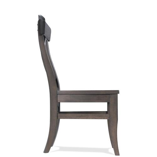 Harper - X-back Side Chair - Matte Black Finish