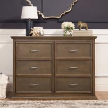 See Details - Mocha Foothill-Louis 6-Drawer Dresser