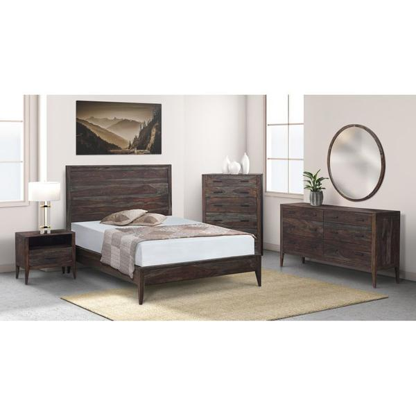 COMING SOON, PRE-ORDER NOW! Fall River Obsidian Bedroom Set, HC4482S01