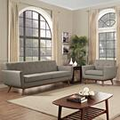 Engage Armchair and Sofa Set of 2 in Granite Product Image