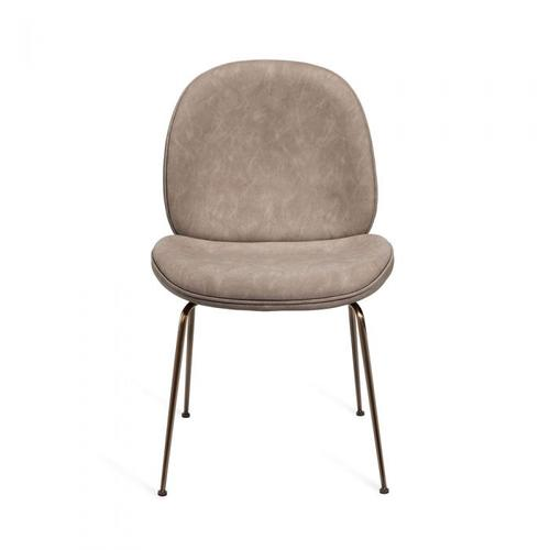 Luna Dining Chair - Distressed Taupe