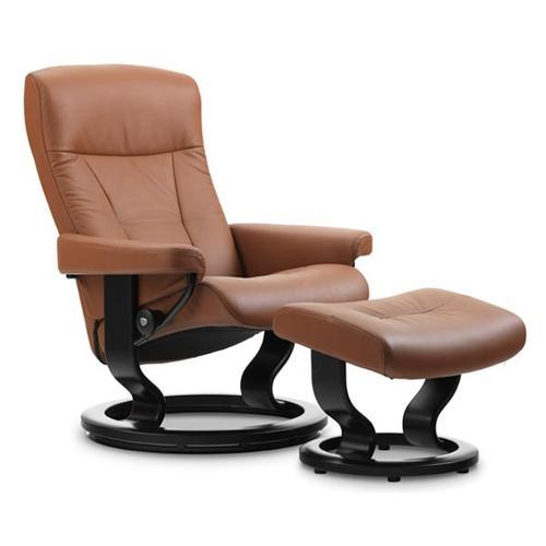 Stressless By Ekornes - Stressless President (L) Classic chair