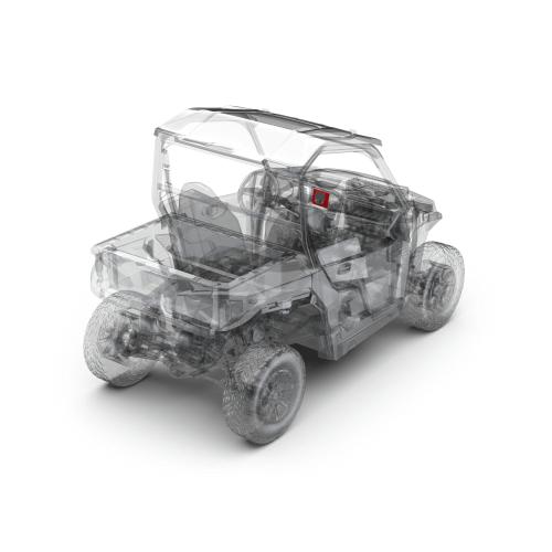 Rockford Fosgate - Stereo kit for select Polaris GENERAL® models
