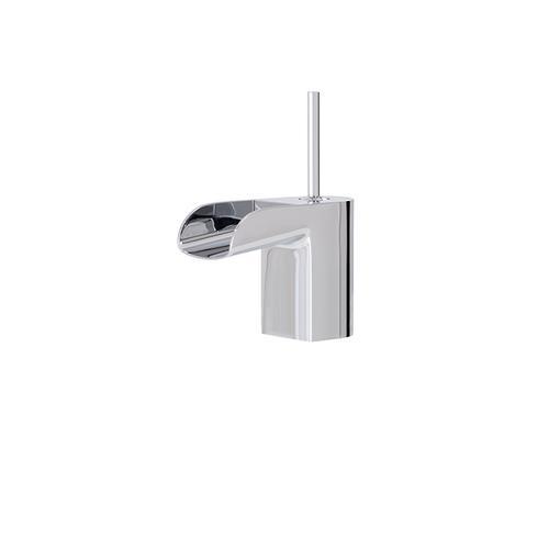 Single-hole lavatory faucet