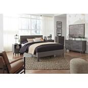 Queen Panel Headboard With Dresser, Chest and Nightstand