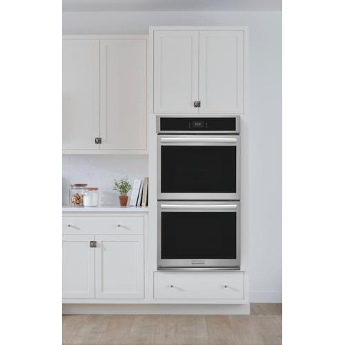 Frigidaire - Frigidaire Gallery 27'' Double Electric Wall Oven with Total Convection