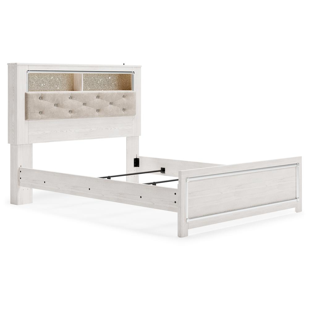 Altyra Queen Panel Bookcase Bed