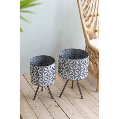 A & B Home - S/2 Plant Stand