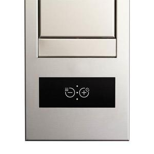 SLOT 21-Inch Stainless Steel Downdraft Built-In Kitchen Ventilation 300 Max CFM to 650 Max CFM