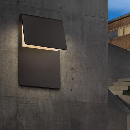 Sonneman - A Way of Light - Ply LED Sconce [Color/Finish=Textured Bronze]
