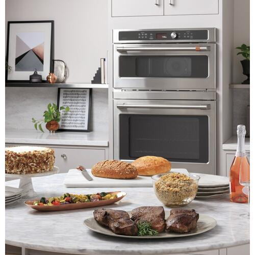 Café 30 in. Combination Double Wall Oven with Convection and Advantium ® Technology