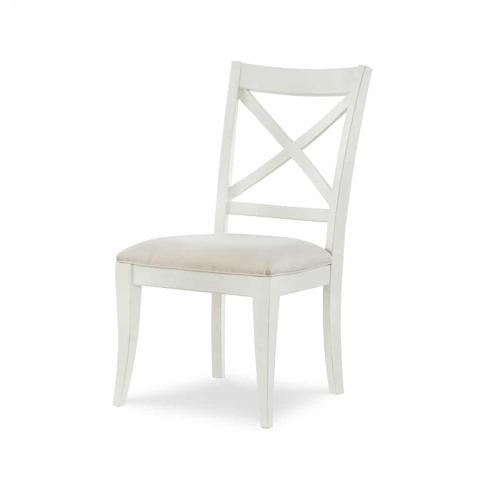 X Back Side Chair - Sea Salt