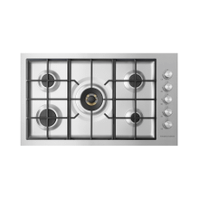 """See Details - Gas on Steel Cooktop, 36"""", Flush Fit, LPG"""