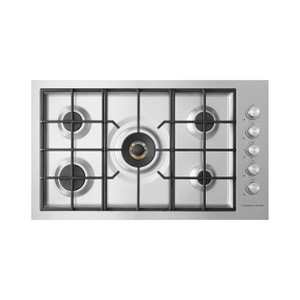 """Gas on Steel Cooktop, 36"""", Flush Fit, LPG Product Image"""