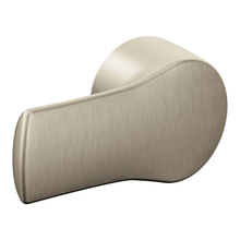 Method brushed nickel tank lever