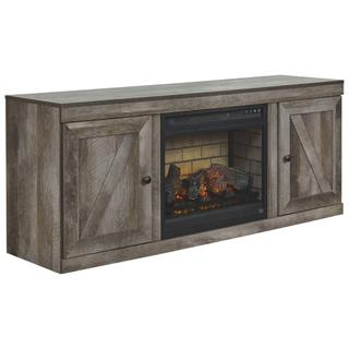 """See Details - Wynnlow 60"""" TV Stand With Electric Fireplace"""