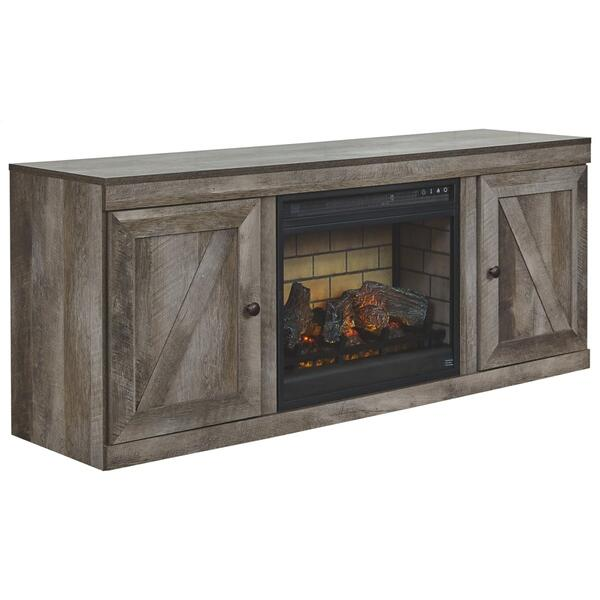 """Wynnlow 60"""" TV Stand With Electric Fireplace"""