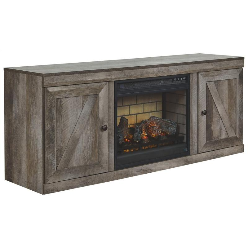 """View Product - Wynnlow 60"""" TV Stand With Electric Fireplace"""