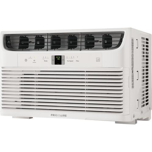 Frigidaire - Frigidaire 6,000 BTU Connected Window-Mounted Room Air Conditioner