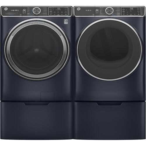 GE® 7.8 cu. ft. Capacity Dryer with Built-In Wifi Sapphire Blue - GFD85ESMNRS