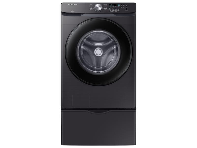 4.5 cu. ft. Front Load Washer with Vibration Reduction Technology+ in Black Stainless Steel Photo #3