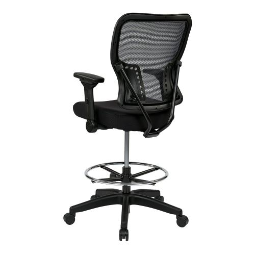 Deluxe Air Grid Back and Padded Mesh Seat Chair