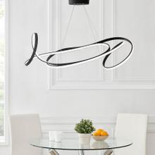 See Details - Moscow LED Chandelier // Black