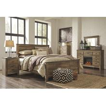 View Product - King Panel Bed With Dresser and Chest