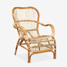 Delaney Rattan Arm Chair25x35x32