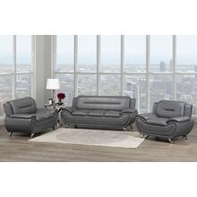 Riley Love Seat Grey