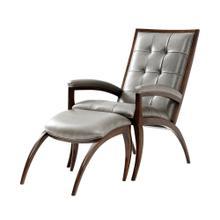 Arc Chair & Ottoman, #plain#