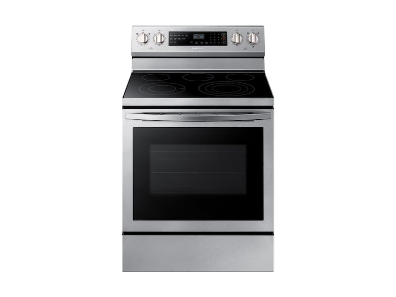 Samsung5.9 Cu. Ft. Freestanding Electric Range With True Convection In Stainless Steel
